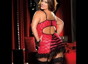 Intimate Attitudes Plus Size Chemise Intimate Attitudes Plus Size Lingerie for Shirley of Hollywood